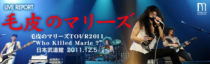 毛皮のマリーズ TOUR 2011
