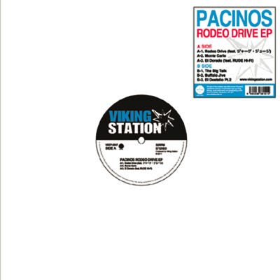 PACINOS「RODEO DRIVE EP」